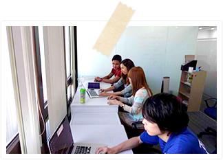 フィリピンのシステム開発拠点では、高いコストパフォーマンスを実現