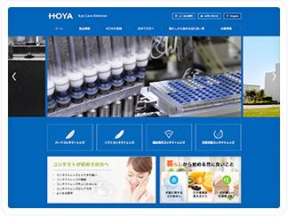 コンタクトレンズやケア用品を取り扱う、HOYA株式会社 アイケア事業部の公式サイト