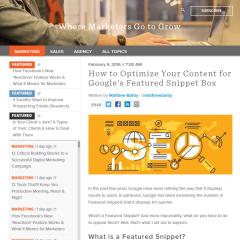 強調スニペットがサイト運営者に有利な7つの理由