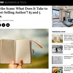 「3ドルあればベストセラー作家になれる?」他 マーケター必見海外記事3本